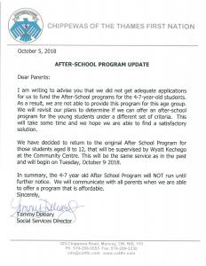 afterschool-program-update