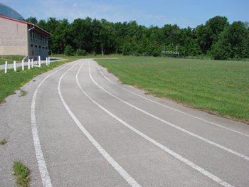 Running Race Track