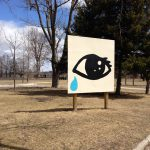 Tear Drop at the Mt. Elgin Institute Residential School Monument site
