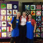 The Barn Quilt ladies at the BQ Ontario Conference