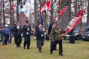 Veterans Procession 2014