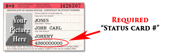 Required 'Status Card #'